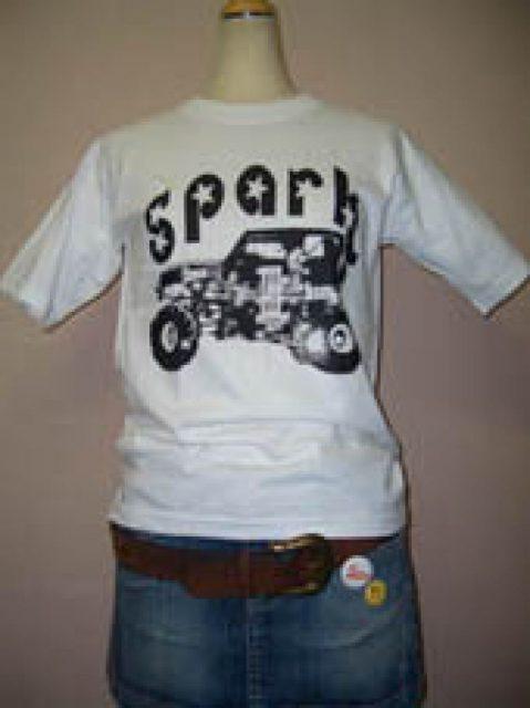スパークジープTシャツ