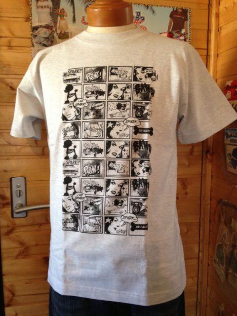 アメコミSPARK Tシャツ