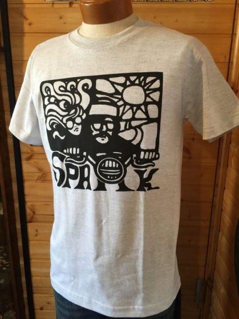 バイク スパーク Tシャツ
