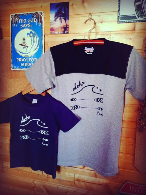 Licoi wave&arrow メンズ&キッズTシャツ