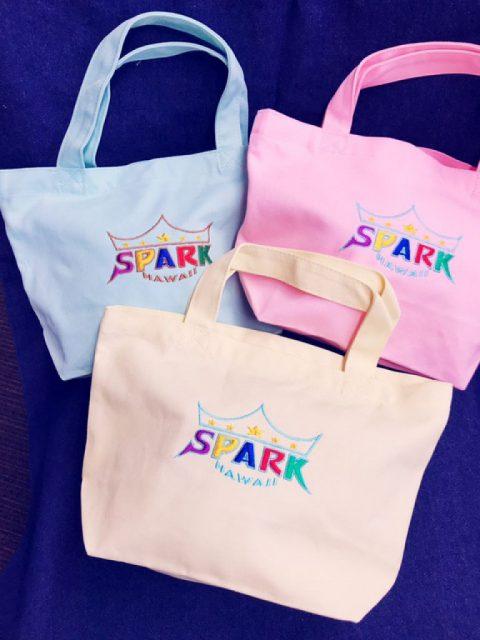 SPARKスペシャルデザイン ミニトートバッグ