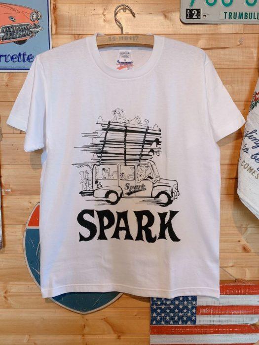 SPARKウッディTシャツ