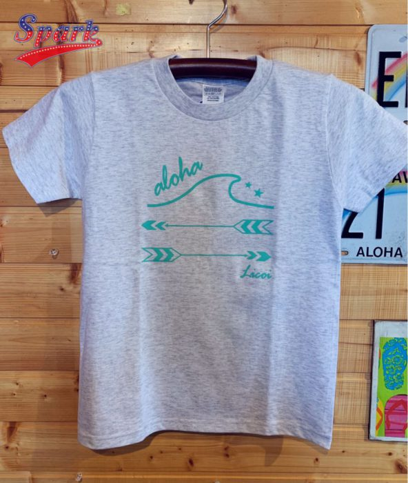 Licoi wave&arrow キッズTシャツ